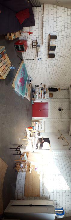 Fachwerk freigelegt mit Glasfront außen Kreative Einrichtungsideen - einrichtungsideen sitzecke in der kuche