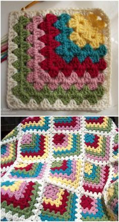 We have gathered a big list of that will really inspire you to make crochet Squares patterns with crocheting hooks.Mitered Granny Square inspiration blanket Crochet Squares Patterns To Create Blankets Crochet Squares Afghan, Granny Square Crochet Pattern, Afghan Crochet Patterns, Crochet Granny, Crochet Motif, Crochet Designs, Crochet Stitches, Crochet Hooks, Free Crochet
