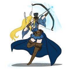 ~ Fionna the Archer ~ by ~Askme-Fionna on deviantART