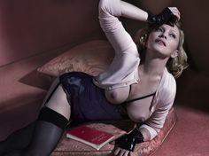 "Madonna in ""The Art Issue"" Photographer: Mert Alas & Marcus Piggott Stylist: Arianne Phillips for Interview Magazine December 2014"