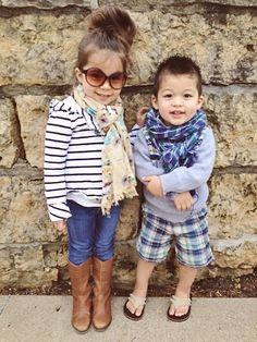 Adorably, stylish littles!