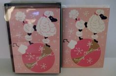 If they love PInk Poodles these Punch Studio Christmas Holiday Cards are for them! #nycfitnessfamilyfinds
