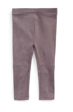 Vince Baby Girl Faux Suede Leggings Size 6 Months MSRP $58  | eBay