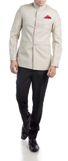 The Luxurious Indian Checks Prince Jacket - Lookbook 2014 | Mens Custom Suits