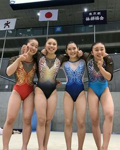 GYMNASTICS.....JAPAN Artistic Gymnastics, Olympic Gymnastics, Triathlon Women, Girls Sports Clothes, Gymnastics Flexibility, Gymnastics Photography, Girls Gymnastics Leotards, Gymnastics Pictures, Female Gymnast