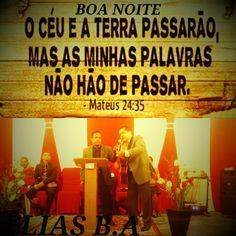 Boa noite Erguei, pois, aos céus os vossos olhos, e voltai vosso olhar para baixo, para a terra; os céus desaparecerão como fumaça, a terra se gastará como as vestes, e seus habitantes morrerão como moscas. Mas a minha salvação permanecerá para sempre, a minha justiça jamais falhará.Isaías 54:10