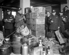 """Jan. 16, 1920, America goes """"dry"""" as the 18th Amendment to the U.S. Constitution takes effect, and Prohibition becomes the law of the land. It is later repealed by the 21st Amendment."""