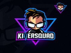 KillerSquad 0 gamer logo for PnKllr Logo Esport, Art Logo, Team Logo, Make Your Own Logo, How To Make Logo, Game Logo Design, Logo Design Services, Logo Gamer, Esports Logo