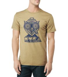 RVCA Mens : Tees / Tanks - Rvca Owl