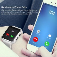 New Arrival Smart Watch with Camera Touch Screen Support SIM TF Card Bluetooth Smartwatch for iPhone Xiaomi Android Phone Apple Watch, Square App, Android Wear Smartwatch, Camera Watch, Remote Camera, Smart Watch, Bluetooth, Smartwatch