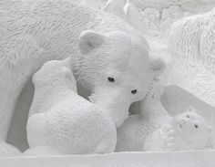 Snow sculpture | Flickr - Photo Sharing!