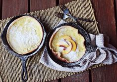 If you've never tried a dutch baby before here are three reasons why you should soon: 1. They are delicious. Think if a pancake and crepe had a child. 2. They're called Dutch Babies. That's adorable. Duh. 3. They are super easy to make. It's kind of a baked pancake. No flipping required. I've been making these for a while now. I originally learned from this recipe and this lovely...