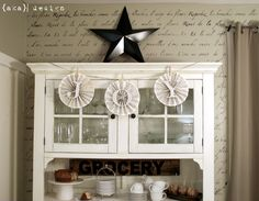 love this cabinet and colors