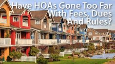 Are HOA Dues Making Real Estate Unaffordable?