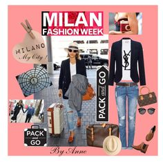 """""""Milano Fashion Week Polyvore contest"""" by anne-977 ❤ liked on Polyvore featuring Monsoon, Barneys New York, Louis Vuitton, Yves Saint Laurent, Monki, women's clothing, women, female, woman and misses"""