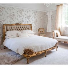 Welcome to the French Bedroom Company, award winning French furniture boutique. Explore our inspiring range of French beds and luxury bedroom furniture. Feminine Bedroom, Modern Bedroom, Contemporary Bedroom, Modern Bedding, Modern Contemporary, Bedroom Furniture, Bedroom Decor, Gold Bedroom, Bedroom Ideas