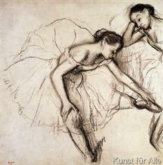 Edgar Degas - Two Dancers Resting
