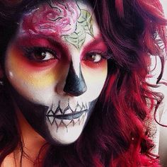More incredible makeup ideas for #Halloween! Do you guys know what you're going to be yet?? Love this skull look from the darling @miss_lala_makeuplova using the Pro Matte Eyeshadows! www.concreteminerals.com #concreteminerals #promatte #cmrisque #cmember #cmhifi #cmfame #mua #halloweenideas #lotd #skull #sugarskull