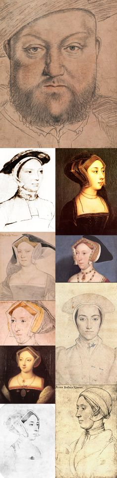 Henry VIII & Ladies of Court, by Hans Holbein the Younger who was welcomed into the humanist circle of Thomas More, where he quickly built a high reputation. After returning to Basel for four years, he resumed his career in England in 1532. This time he worked under the patronage of Anne Boleyn and Thomas Cromwell. By 1535, he was King's Painter to King Henry VIII. composed by piedcrow