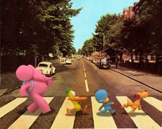 A day like TODAY, 44 years ago... Thursday, 07 August 1969:  2 songs were recorded at ABBEY ROAD by The Beatles:  - Come Together - The End  Hooray for The Beatles and Pocoyo! www.pocoyo.com