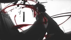 deadman wonderland | Tumblr Seriously looks like a red bloody rasengan.
