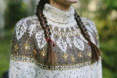 Fair Isle Knitting Patterns, Knitting Stitches, Knit Patterns, Nordic Sweater, Textiles, Wool Sweaters, Pretty Outfits, Free Pattern, Knit Crochet