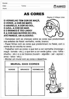 31 Atividades de Natal para Imprimir - Educação Infantil - Aluno On