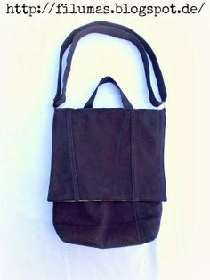 Herrentasche aus Jeanshose / Men's bag made from pair of jeans  Upcycling
