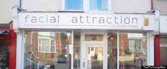 Facial attraction - haha! #funny #english #signs