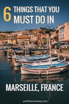 What to see in Marseille, France? If you've been asking this question, look no further than this amazing travel guide which provides the best of Marseille attractions and food options. This three day travel itinerary of Marseille showcases Chateau D'IF, beaches, monuments, murals and other must do things while in France's port city! #marseille #france #travel #europe #francetravel
