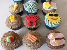 artist theme cupcakes | Summer Themed Cupcakes
