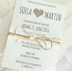 Invitasjon Handmade Wedding Invitations, Marry You, Invitation Design, Save The Date, Wedding Details, Our Wedding, Wedding Inspiration, Place Card Holders, Valentines
