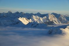 Winterpanorama Oberstdorfer Berge - stunning view of the Alps