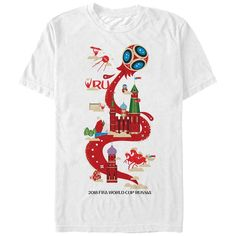FIFA World Cup Russia 2018™ Host Celebration Mens Graphic T Shirt | eBay