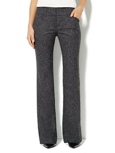 7th Avenue Bootcut Pant - Tweed - Average - New York. I got these in black and brown. I can't wait until it gets cool enough to wear them! #inmycloset