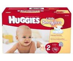 Huggies Little Snugglers Diapers, Size 2, 76-Count - http://www.intomars.com/huggies-little-snugglers-size-2-diapers.html
