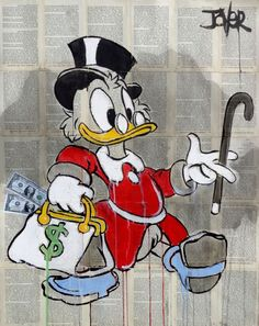Buy RICH DUCK, Ink drawing by Loui Jover on Artfinder. Discover thousands of other original paintings, prints, sculptures and photography from independent artists.