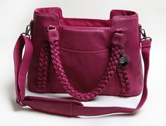 our NEW FUCHSIA CLOVER! www.epiphaniebags.com  Love!!!!!!!