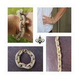 Pave Crystal Studded Bracelet