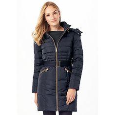 f20bea39f Buy Phase Eight Fur Trim Paula Puffer Coat