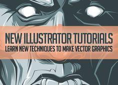 25 Adobe Illustrator Tutorials – Learn New Techniques to Make Vector Graphics #illustratortutorials #vectortutorials #adobetutorials