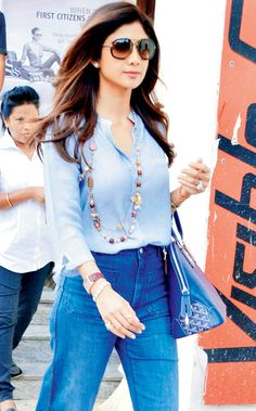 Shilpa Shetty Kundra spotted in Juhu. #Bollywood #Fashion #Style #Beauty