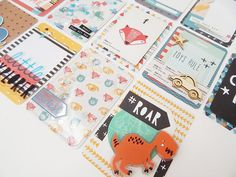 Project Life Card Set Crate Paper Cool Kid by GlitterartzyCrafts