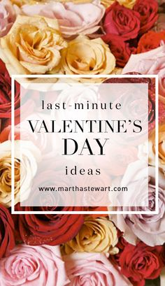 valentine day menu martha stewart