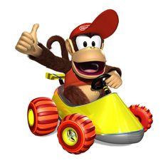 kickin it old school. Super Nintendo, Mario Kart Characters, Mario Y Luigi, Diddy Kong, Donkey Kong Country, Super Mario Art, Mario Party, Mario Brothers, Super Smash Bros