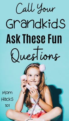 101 fun questions to ask kids to know them better! Great conversation starters to bond with your kids over dinner or a long car ride. Fun Questions For Kids, This Or That Questions, Silly Questions, Grandchildren, Grandkids, Granddaughters, Toddler Activities, Activities For Kids, Jokes For Kids