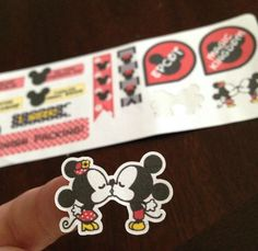 Erin Condren Planner Stickers Disney by TheRealMcCoyLife on Etsy