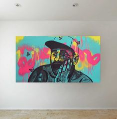 Latest addition to my #etsy shop Oringinal Artwork: Tyler the Creator | Art Butterfly Wall Art | Painting | Home Decor | Portrait Artwork http://etsy.me/2FiPoWu #art #printmaking #blue #pink #tylerthecreator #butterfly #homedecor #hiphop #painting