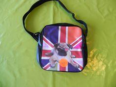 Ref CDP042 Sacoche «Dog so british». 10€