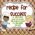 Have your students start the school year with this delicious and meaningful treat! I have included the recipe for success along with labels and a b...